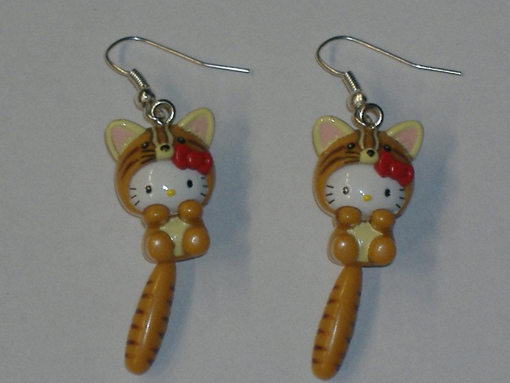 orecchini hello kitty volpe