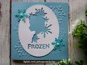 Invito per compleanno Frozen