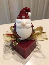 Saponetta Decorativa Babbo Natale