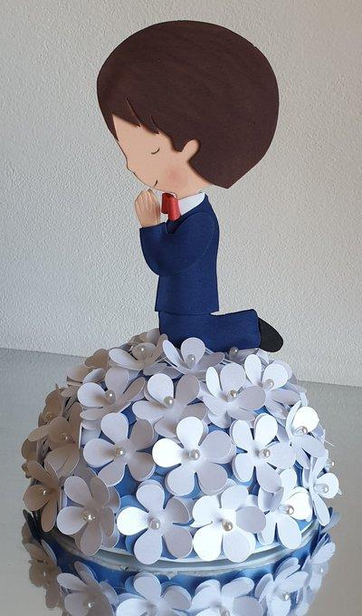 Cake topper comunione