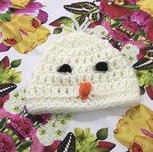Cappellino    realizzato ad uncinetto neonato