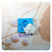 Stampo in silicone angelo stampo per gesso stampo per resina stampo per ceramica a freddo stampo per decorazioni