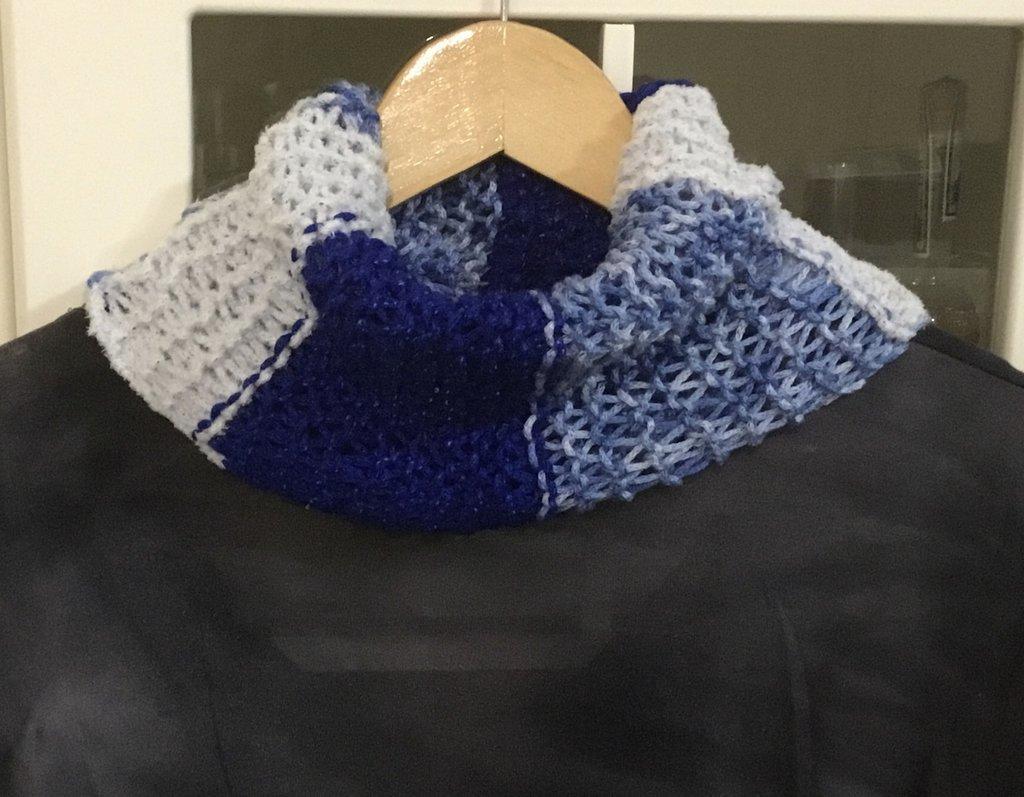 Scaldacollo sciarpa  scarf donna regalo