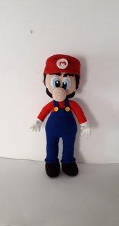Super Mario Bross in amigurumi.