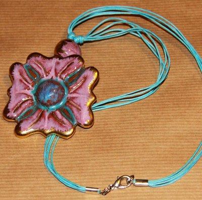 Collana PINK FLOWER