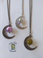 """Collana """"perle di luna"""""""