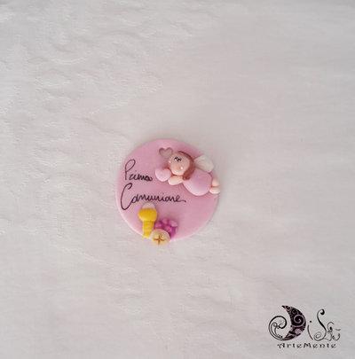 Bomboniere comunione Le Medaglie angelo bimba personalizzabile
