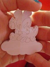 Topolino con nuvoletta