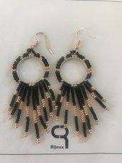 Orecchini di perline pendenti