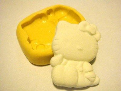 Stampo fimo Hello Kitty seduta