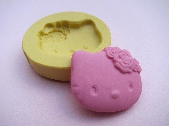 Stampo fimo faccino Hello Kitty