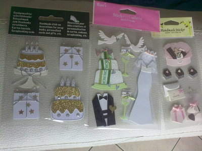 Stickers wedding 3
