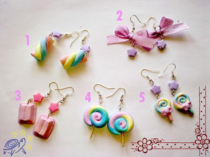 orecchini 1-2-3-4-5
