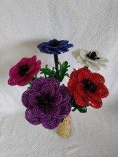 Anemoni fiori di perline