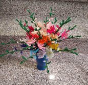 Fresia fiori di perline