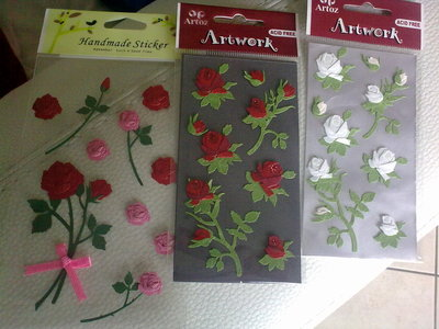 Stickers rose