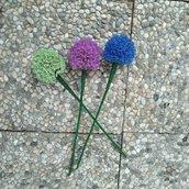 Allium fiori di perline