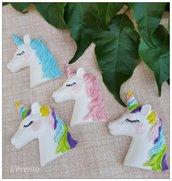 Gessetto colorato unicorno