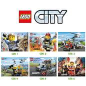 Tovaglietta americana LEGO CITY personalizzabile con il nome del tuo bambino*