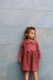 Vestito Rebe Rosa Antico