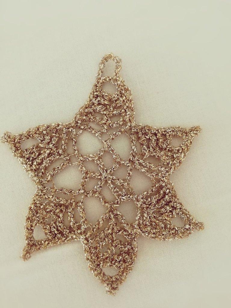 decorazioni natalizie stelline dorate