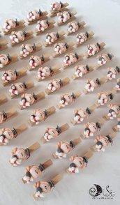 Bomboniere mollettina laurea dollina personalizzabile