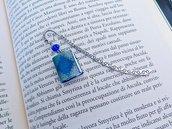 Segnalibro in metallo con mini libro Orgoglio e pregiudizio