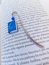 Segnalibro in metallo con mini libro Eragon