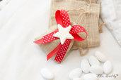 Bomboniere stelle luccicose in fimo, ideali anche per il primo compleanno per bimba o bimbo.