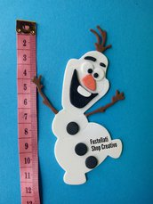 Fustellato pupazzo di neve cartoncino gomma crepla