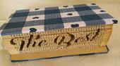 "Libro dedica ""The Best"", idea regalo, tecnica book folding"