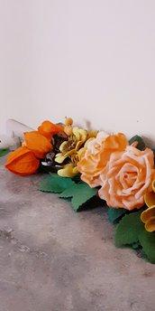 Sopraporta con fiori