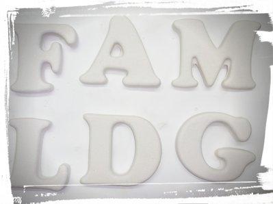 set 6 stampi silicone lettere gessetti fimo resina matrimonio compleanno battesimo comunione cresima