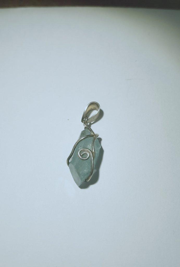Acquamarina in argento 925