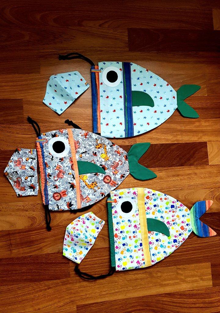 Sacca asilo pesciolino