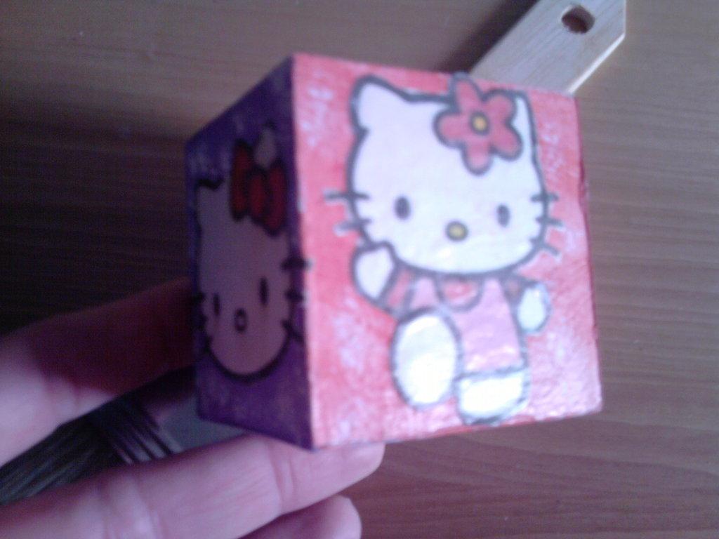 Cubo hellokitty