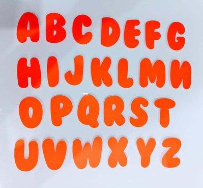 fustellati lettere alfabeto cartoncino gomma crepla decorazioni segnaposto iniziali