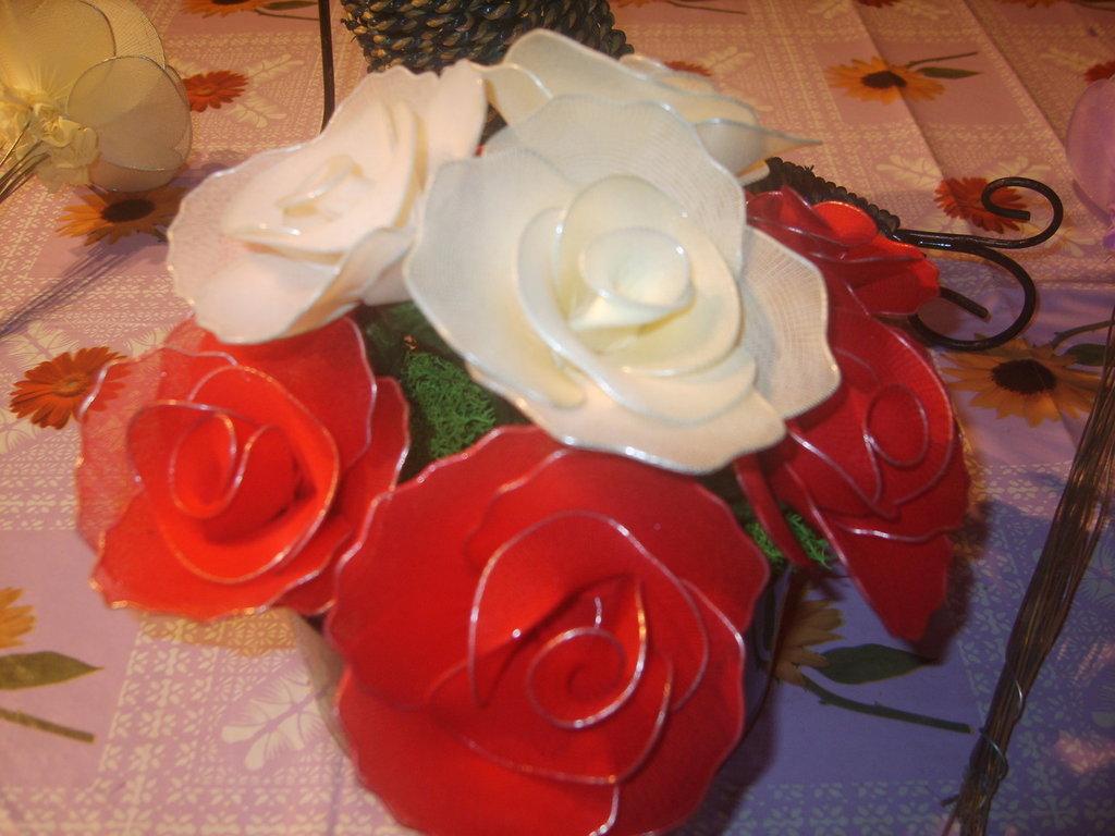 centrotavola di rose