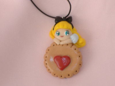 ciondolo alice cookie