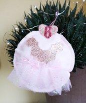 Addobbo natalizio personalizzato ballerina.