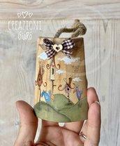 Tegoline in legno dipinte a mano By Creazioni GiaRó Ⓒ