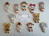 24 biscotti L.O.L Surprise biscotti decorati fashion festa compleanno a tema L.o.l. cookie biscotto da mangiare