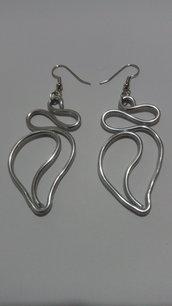 Orecchini in wire color argento