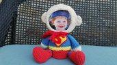 Portaritratti amigurumi supereroi
