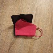 Porta mascherine, custodia per mascherine contenitore