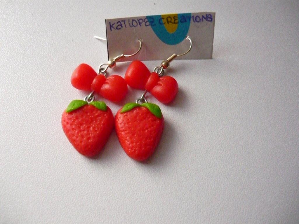 Strawberries Earrings
