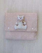 Fasciatoio portatile con orsetto