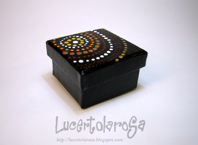 Scatolina etnica piccola/ little ethnic box