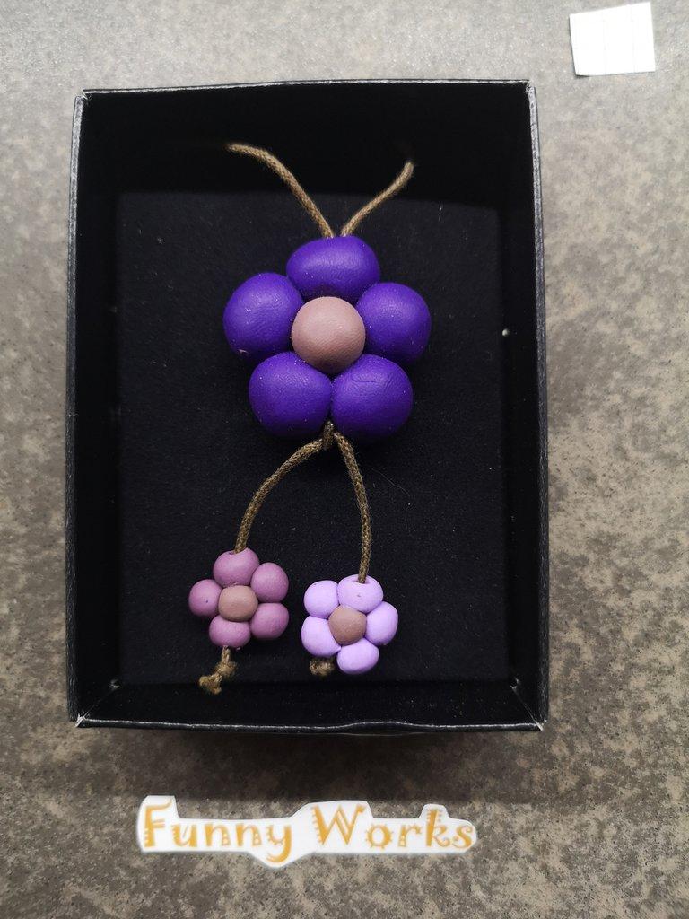 Collana 3 fiori