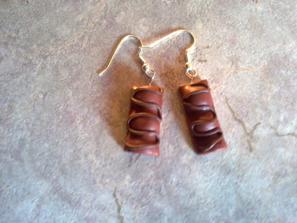 orecchini duplo